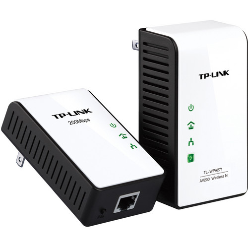 TP-Link TL-WPA271KIT 150Mbps AV200 Wireless N Powerline Extender Starter Kit