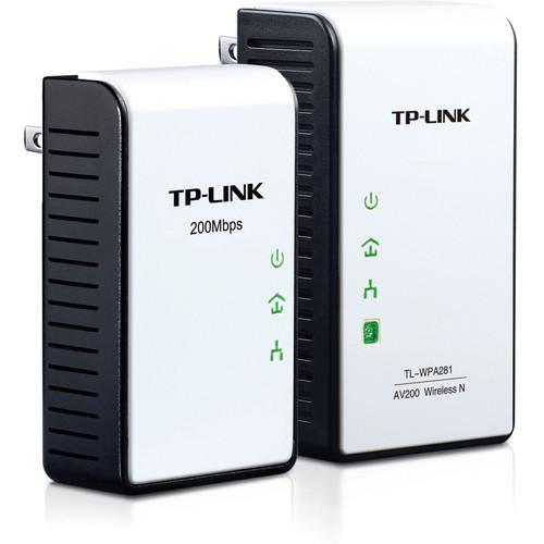 TP-Link TL-WPA281KIT 300Mbps AV200 Wireless N Powerline Extender Starter Kit