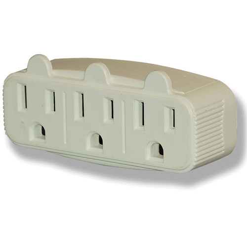 Power Play Products PP-13000TT 3 - Outlet Wall Tap (Tan)