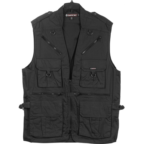 Tamrac 153 World Correspondent's Vest, Large (Black)
