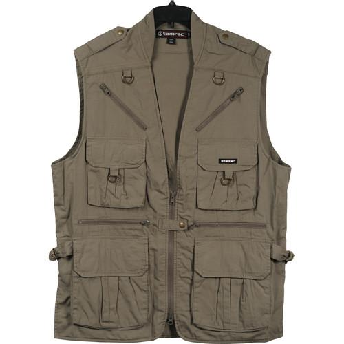 Tamrac 153 World Correspondent's Vest, Large (Khaki)