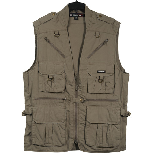 Tamrac 153 World Correspondent's Vest, Medium (Khaki)