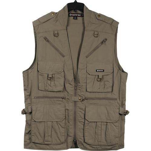 Tamrac 153 World Correspondent's Vest, X-Large (Khaki)