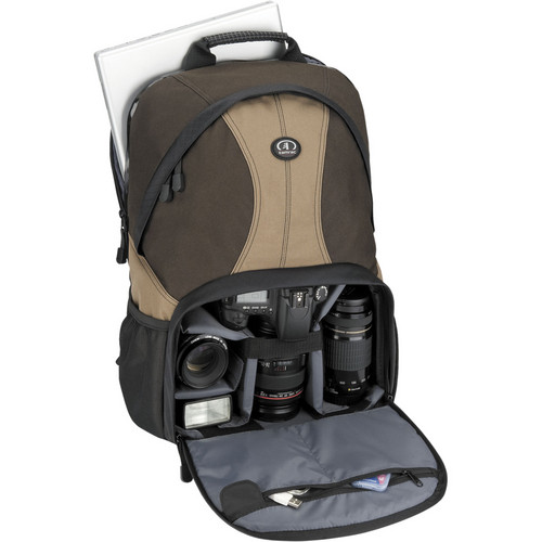 Tamrac 3380 Aero 80 Photo/Laptop Backpack (Brown and Tan)