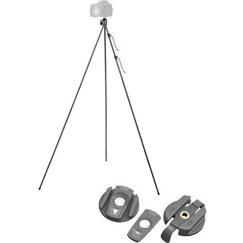 Tamrac TR406 ZipShot Compact, Ultra-Light Tripod And Accessory Kit (Black)