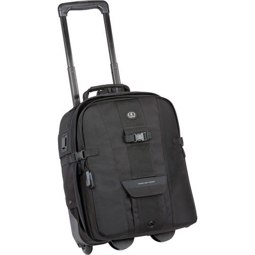 Tamrac 5267 CyberPack Roller Rolling Photo/Computer Backpack (Black)