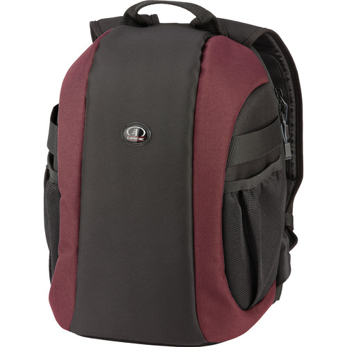 Tamrac 5729 Zuma 9 Secure Traveler Backpack (Black/Burgundy)