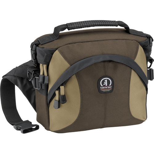 Tamrac 5765 Velocity 5x Photo Hip Pack Convertible Bag (Brown with Tan)