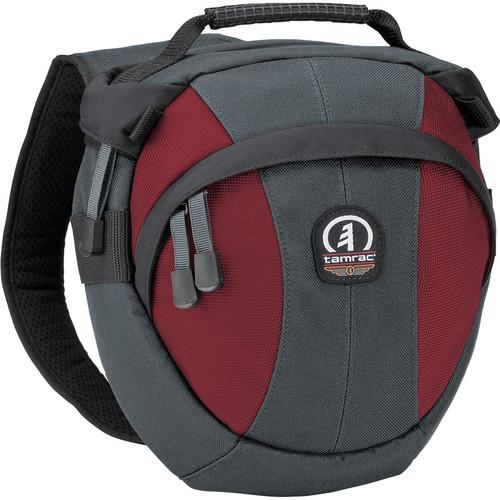 Tamrac Velocity 6x Compact Sling Bag (Gray/Burgundy)