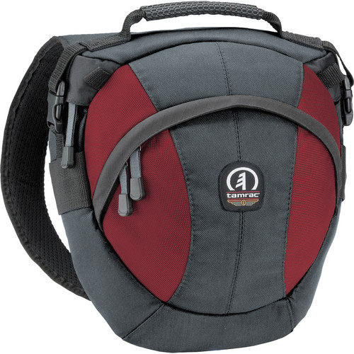 Tamrac Velocity 7x - Photo Sling Pack (Gray/Burgundy)