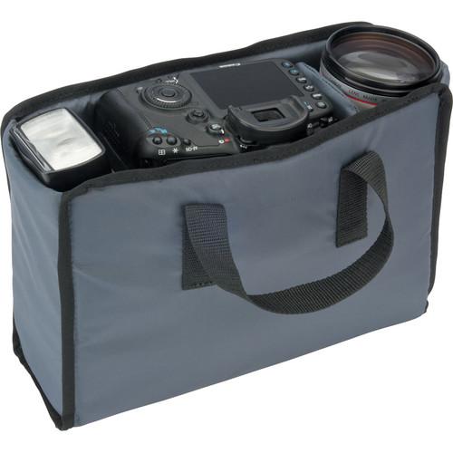 Tamrac #110 Evolution Messenger 2 Camera Bag Shuttle (Small, Gray)