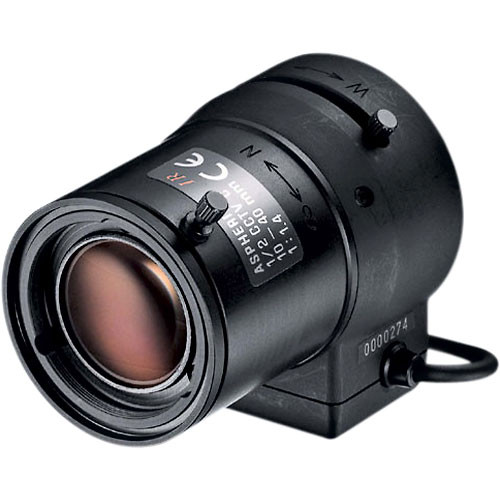 """Tamron 12VA1040ASIR 1/2"""" 10-40mm F/1.4 Infrared Video C-Mount Lens"""