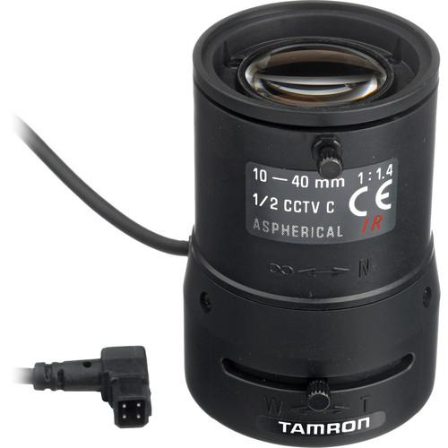 """Tamron 12VG1040ASIR 1/2"""" 10-40mm F/1.4 Infrared DC Iris C-Mount Lens"""