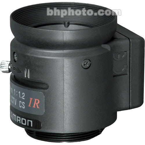 "Tamron 13FG08IRSQ 1/3"" 8mm F/1.2 CS-Mount Infrared Lens"