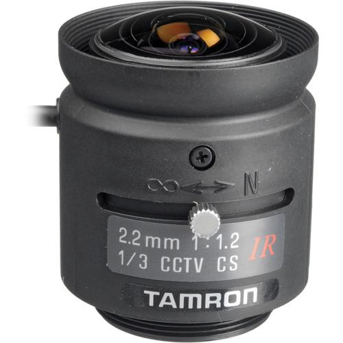 "Tamron 13FG22IRSQ 1/3"" 2.2mm F/1.2 Compact CS-Mount Lens"
