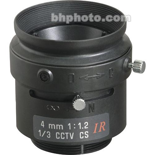 "Tamron 13FM04IR 1/3"" 4mm F/1.2 CS-Mount Infrared Fixed Focal Lens"