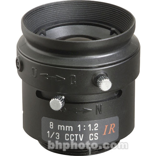 "Tamron 13FM08IR 1/3"" 8mm F/1.2 CS-Mount Infrared Lens"