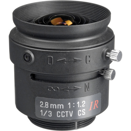 Tamron 13FM28IR 2.8mm f/1.2 Day/Night Lens