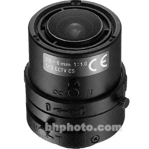"""Tamron 1/3"""" CS Mount 3-8mm f/1.0 Video Iris Lens"""
