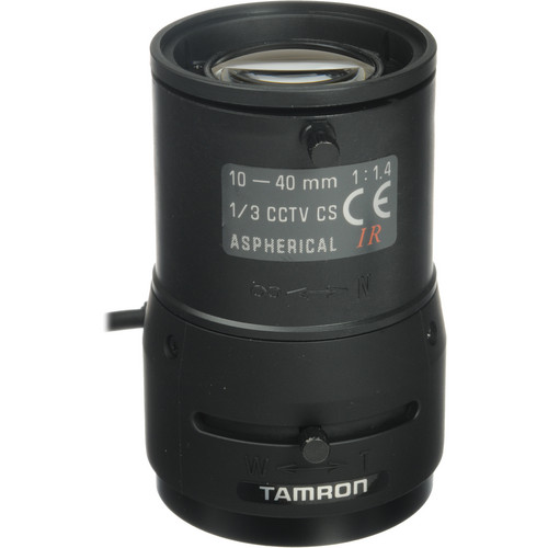 "Tamron 1/3"" CS Mount 10-40mm f/1.4 DC Iris Lens"
