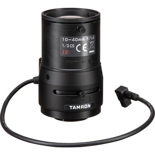 """Tamron 1/3"""" CS Mount 10-40mm f/1.4 DC Iris Lens"""