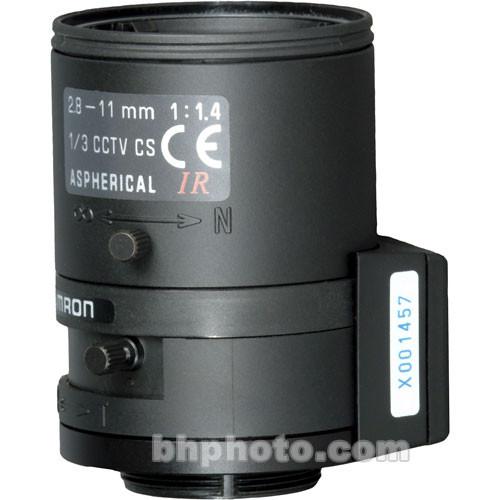 """Tamron 1/3"""" CS Mount 2.8-11mm f/1.4 DC Iris Lens"""
