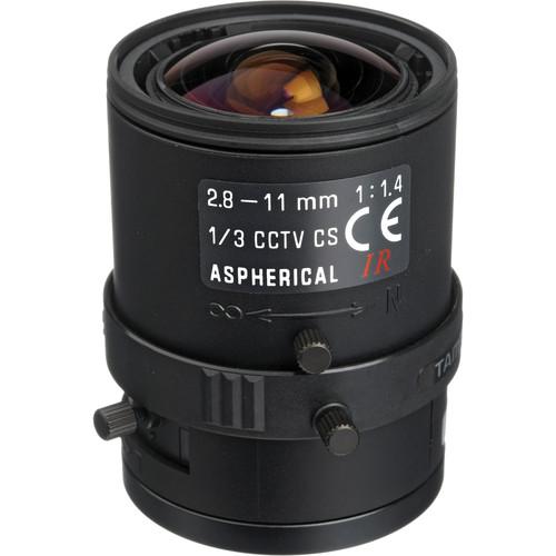 """Tamron 13VM2811ASIR 1/3"""" CS Mount 2.8-11mm f/1.4 Manual Iris Lens"""