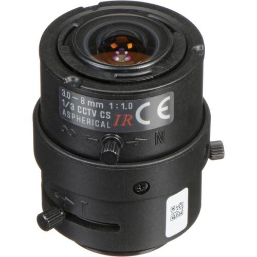 Tamron CS-Mount 3 to 8mm Varifocal Fixed Manual Iris Lens
