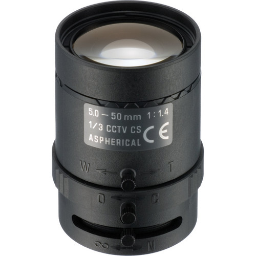 Tamron 13VM550ASII CCTV Lens (5-50mm, f/1.4)