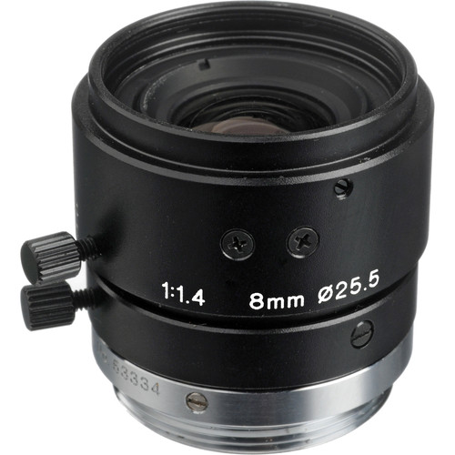 Tamron 23FM08-L 2/3 8mm F/1.4 High Resolution C-Mount Lens with Lock