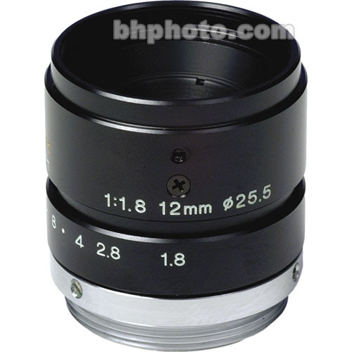 Tamron 23FM12 2/3 12mm F/1.8 High Resolution C-Mount Lens