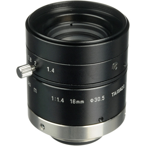 "Tamron 23FM16SP 2/3"" 16mm f/1.4 C-Mount Lens with Lock for Megapixel Cameras"