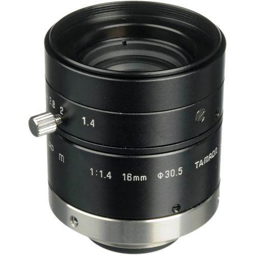 """Tamron 23FM16SP 2/3"""" 16mm f/1.4 C-Mount Lens with Lock for Megapixel Cameras"""