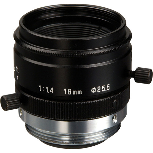 Tamron 23FM16L C-Mount 2/3 16mm F/1.4 High Resolution Lens with Lock