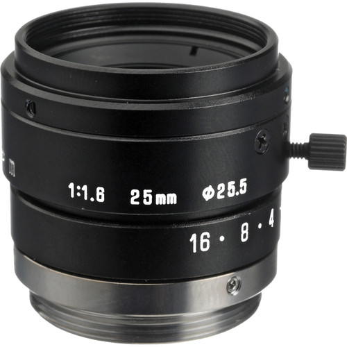 "Tamron 23FM25L 2/3"" 25mm F/1.6 C-Mount Lens with Lock"