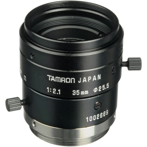 Tamron 23FM35-L 2/3 35mm F/2.1 High Resolution C-Mount Lens with Lock