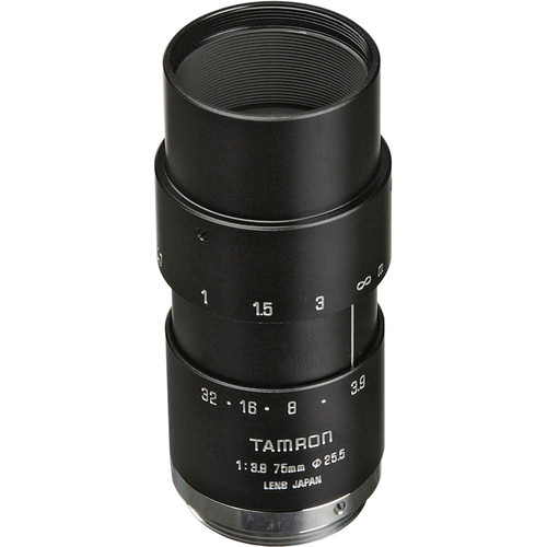 Tamron 23FM75-L 75mm f/3.9 High Resolution C-Mount Lens with Lock