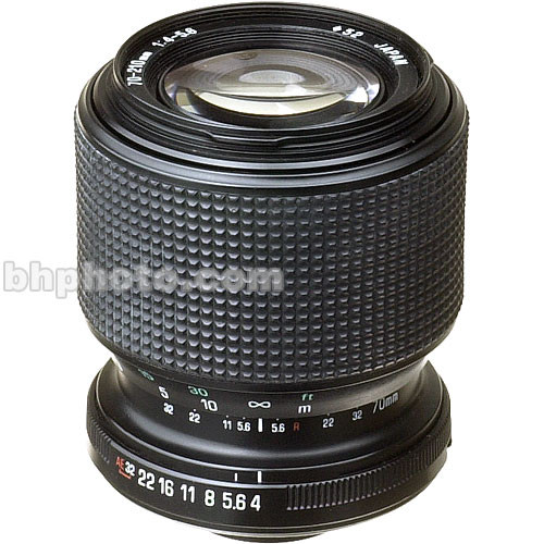 Tamron Zoom Tele 70-210mm f/4.0-5.6 MF Adaptall Lens (Mount Required)