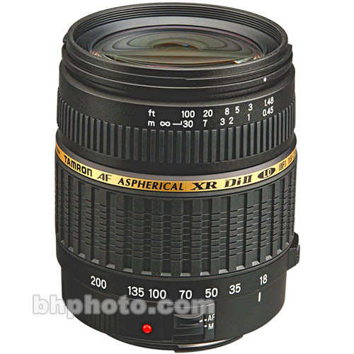 Tamron 18-200mm f/3.5-6.3 XR Di-II LD Asph. (IF) Macro Lens for Canon Digital EOS