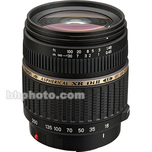 Tamron Zoom Super Wide Angle 18-200mm f/3.5-6.3 XR Di-II LD Aspherical (IF) Macro Lens for Sony Alpha & Minolta Digital SLR