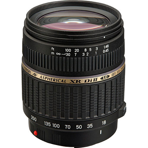 Tamron 18-200mm f/3.5-6.3 XR Di-II Macro Lens for Nikon Digital SLR