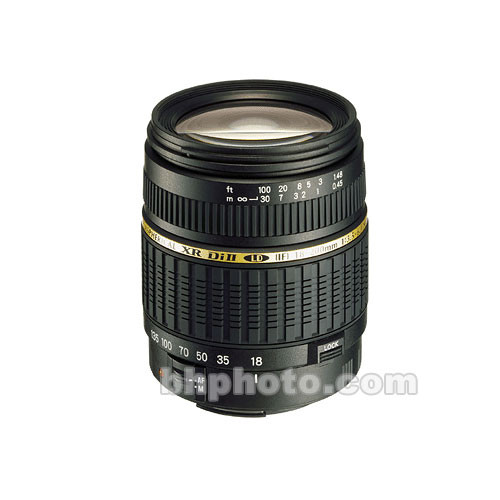 Tamron 18-200mm f/3.5-6.3 XR Di-II Macro Lens for Pentax Digital SLR