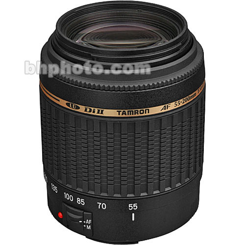 Tamron 55-200mm f/4-5.6 Di-II LD Lens for Canon Digital