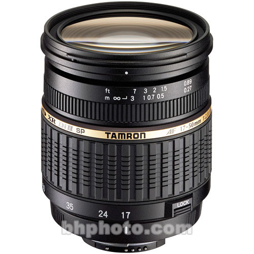 Tamron 17-50mm f/2.8 XR Di II LD Lens for Nikon Digital