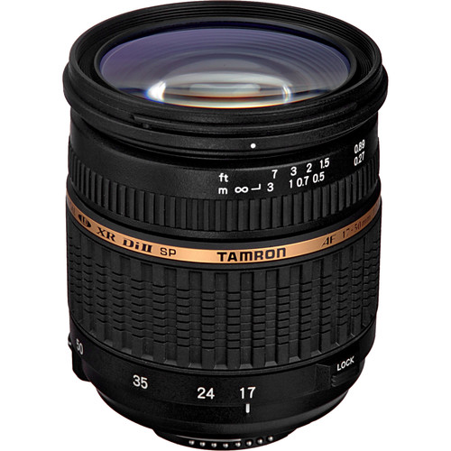 Tamron SP 17-50mm f/2.8 Di II LD Aspherical [IF] Lens for Nikon F
