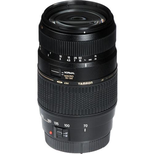 Tamron 70-300mm f/4-5.6 Di LD Macro Lens for Canon EOS