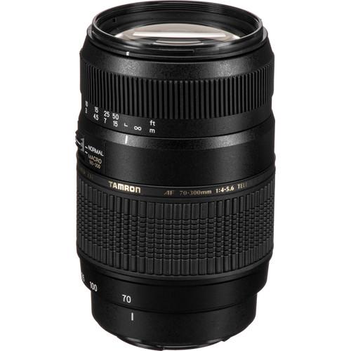 Tamron 70-300mm f/4-5.6 Di LD Macro Lens