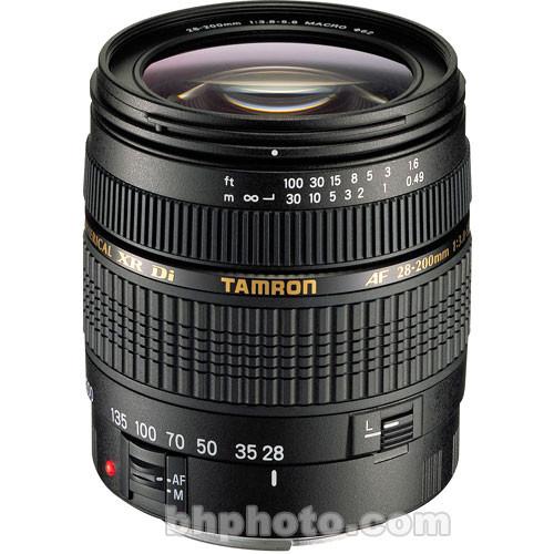 Tamron AF 28-200mm Super Zoom f/3.8-5.6 XR Di Lens