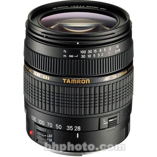 Tamron AF 28-200mm f/3.8-5.6 XR Di Zoom Lens for Nikon
