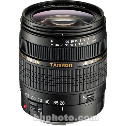 Tamron AF 28-200mm Super Zoom f/3.8-5.6 XR Di Lens for Pentax